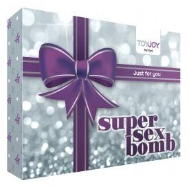Эротический набор SUPER SEX BOMB PURPLE