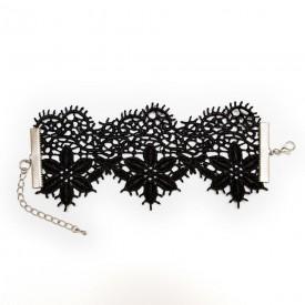 Кружевной браслет Albori с цветочными мотивами